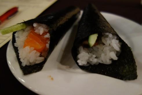 sushi at OCHA