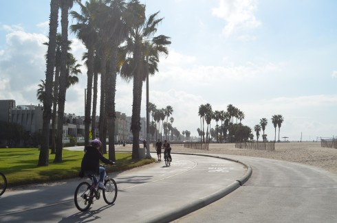 a walk down venice beach