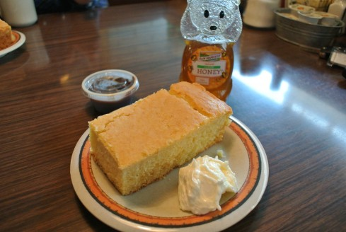 cornbread at cajun kitchen
