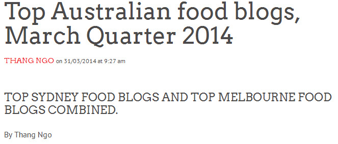 australia wide top food blogs v2