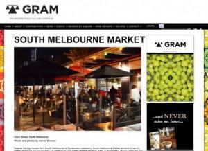 gram sth melb market