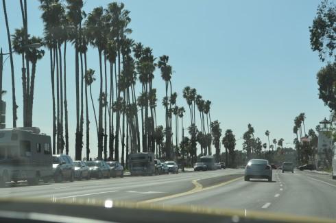 arriving at Santa Barbara