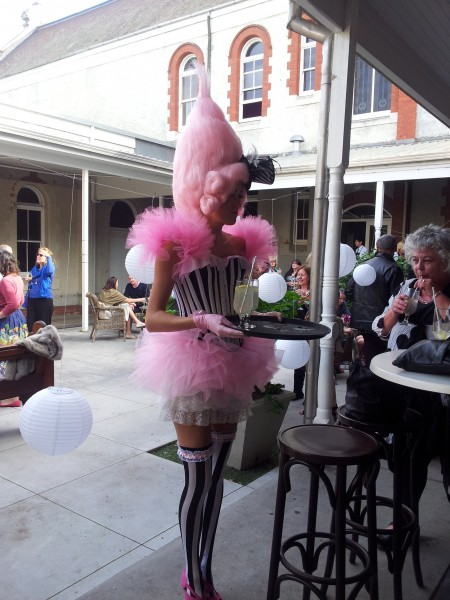 Bursaria High Tea costume Flossy