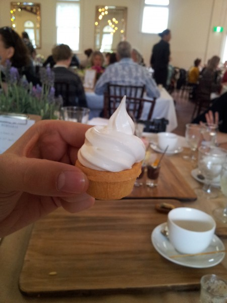 lemon meringue at Bursaria High Tea