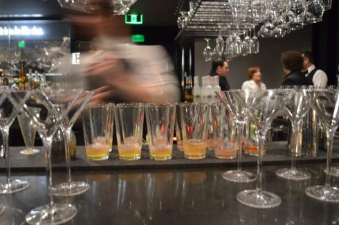 bartender belvedere vodka dinner vue de monde