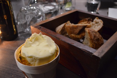 butter and bread at vue de monde
