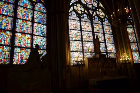 stained glass windows paris