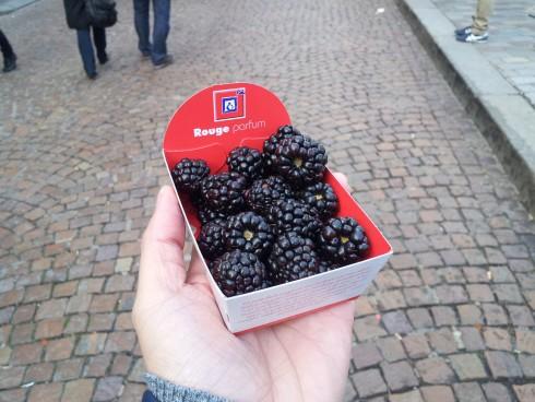 berries at paris markets