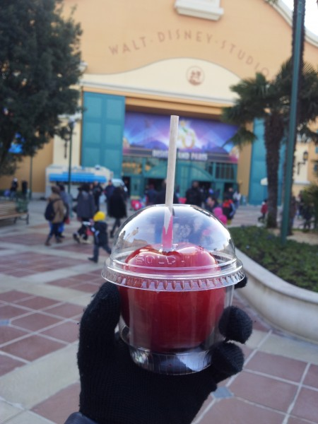 toffee apple disneyland