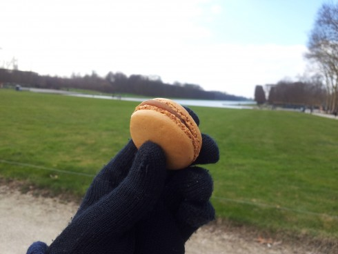 Ladurée macarons at the Palace of Versailles