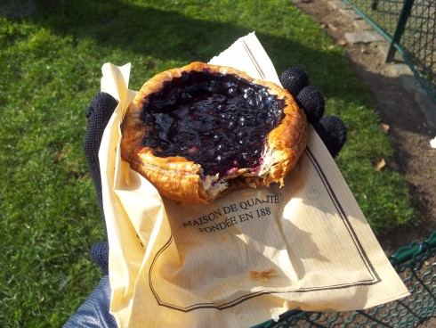 berry pastry from Paul Paris