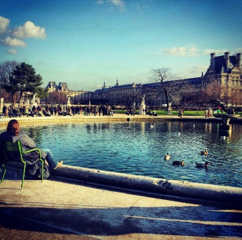 where to relax in Paris