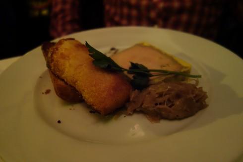 foie gras paris Au Bourguignon du Marais