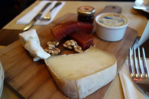 cheese at lou lou paris