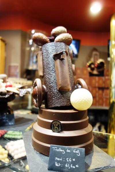chocolate at Georges Larnicol