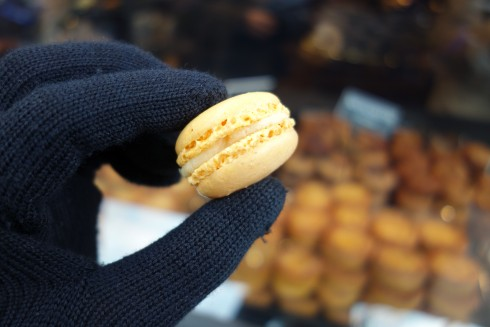 macarons at Georges Larnicol