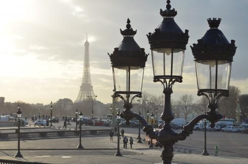 paris in winter
