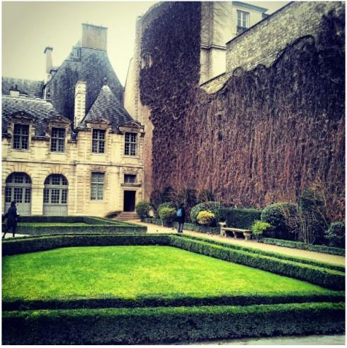 Le Bucheron secret garden