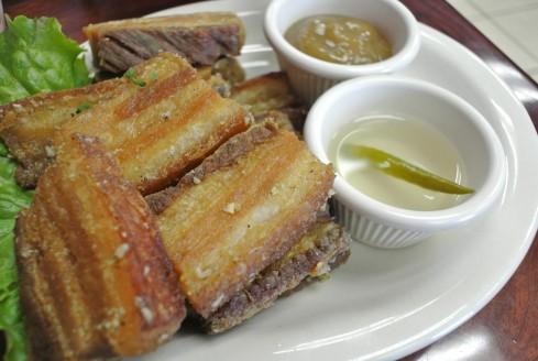 lechon kawali filipino food