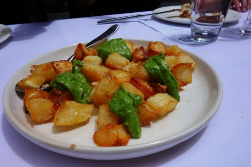 Potatoes with Roast Garlic and Parsley