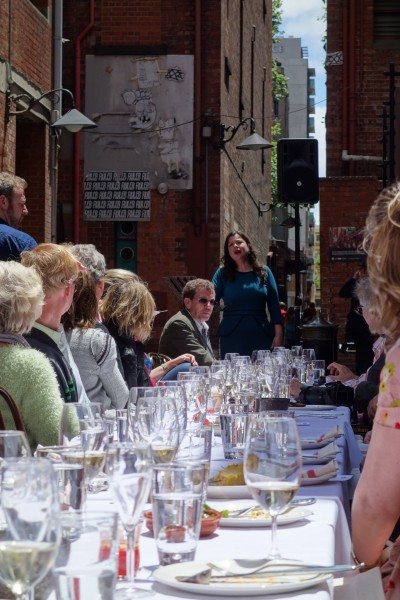 opera Laneway Lunch with Wagner