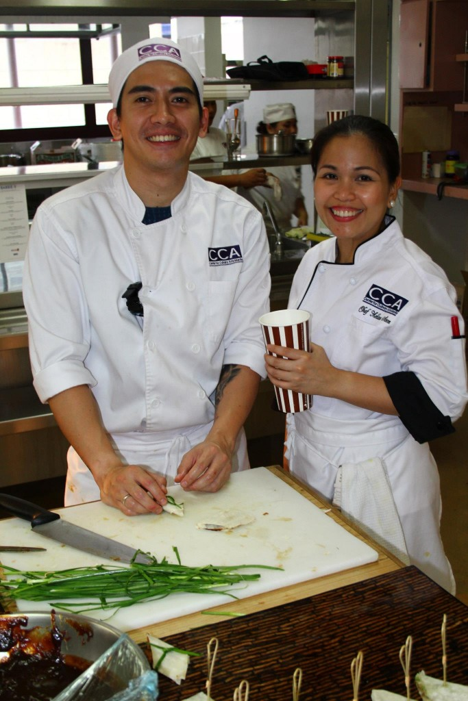 Chefs at Filipino Barbie