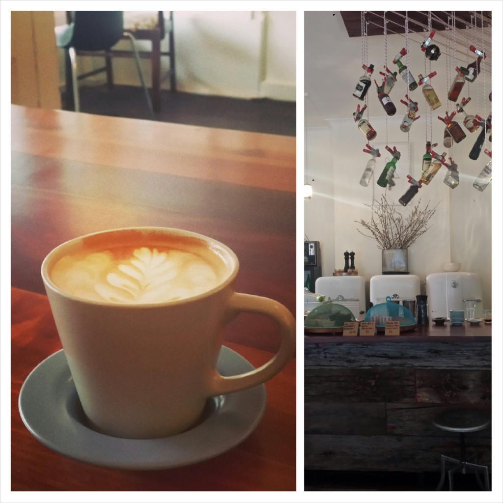 coffee at roseys cafe adelaide
