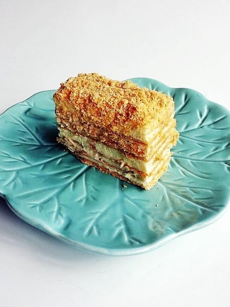 napoleon cake European flavour