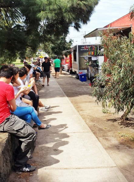 Yarraville Gardens food trucks