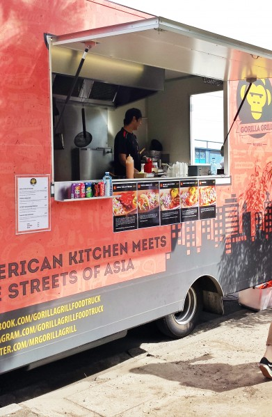 gorilla grill food truck melbourne