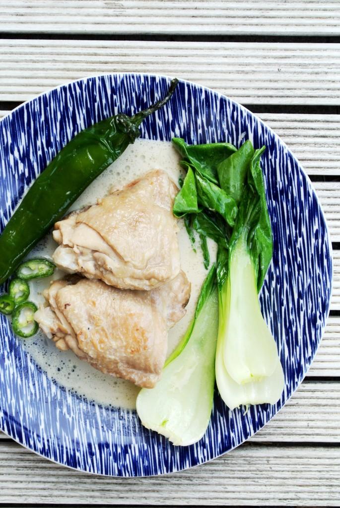 ginataang manok filipino chicken dish