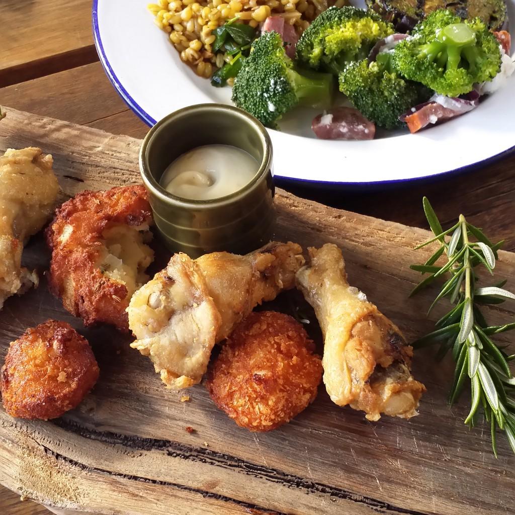 chicken platter brunch burnham beeches piggery
